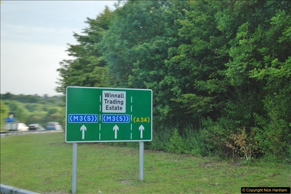 2017-08-25 to 26 Grantown-on-Spey to Poole, Dorset.  (100)100