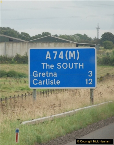 2017-08-25 to 26 Grantown-on-Spey to Poole, Dorset.  (68)068