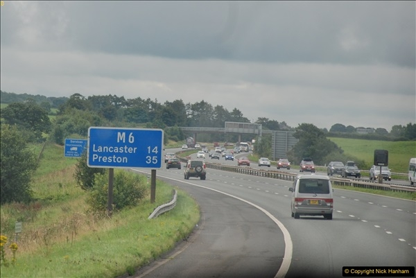 2017-08-25 to 26 Grantown-on-Spey to Poole, Dorset.  (78)078