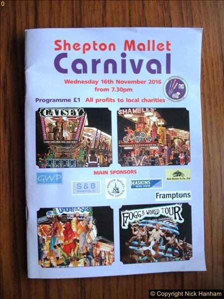 Shepton Mallet Carnival 16 November 2016