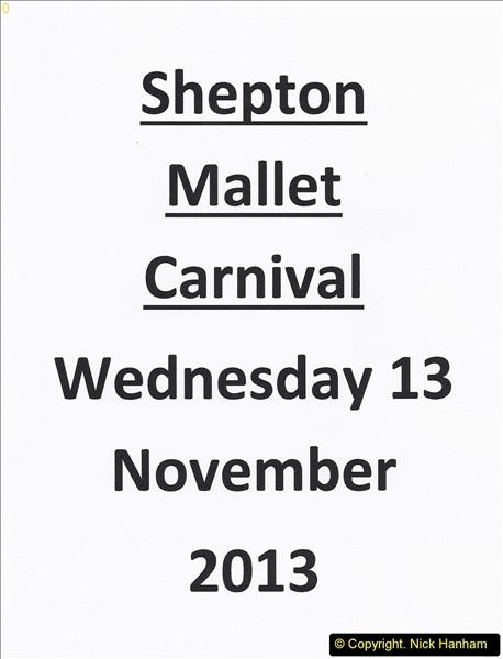 Shepton Mallet Carnival 13 November 2013
