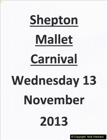 2013-11-13 Shepton Mallet, Somerset CARNIVAL.   (1)001