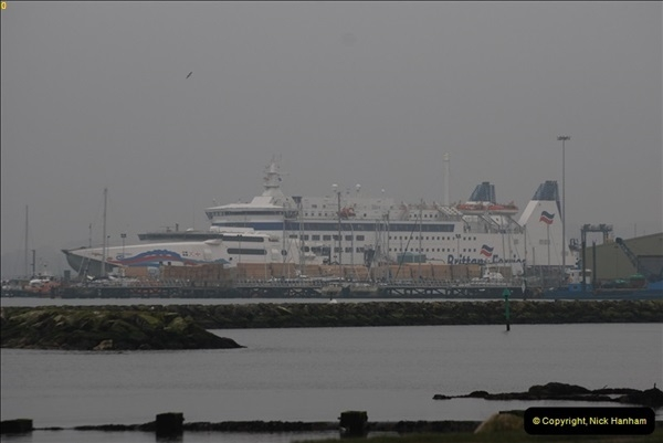 2013-03-20 Brittany Ferries MV Barfleur returns to the Poole Cherbourg service (2)