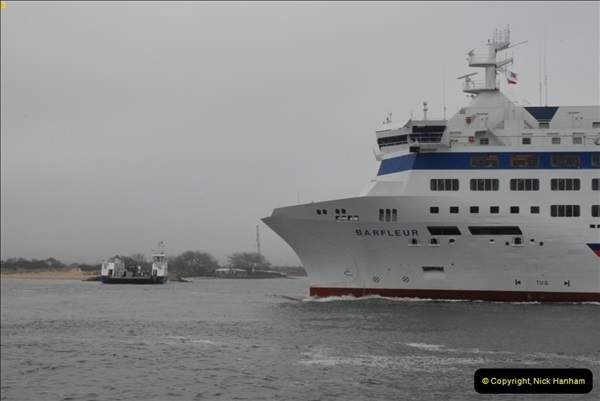 2013-03-20 Brittany Ferries MV Barfleur returns to the Poole Cherbourg service (26)