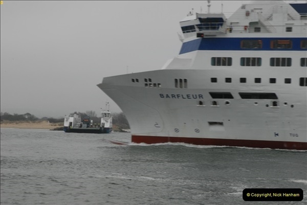 2013-03-20 Brittany Ferries MV Barfleur returns to the Poole Cherbourg service (27)