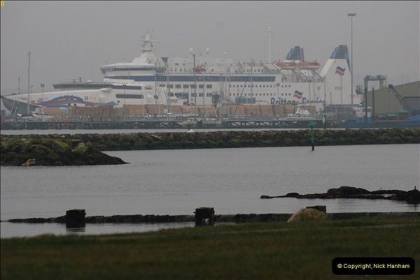 2013-03-20 Brittany Ferries MV Barfleur returns to the Poole Cherbourg service (3)
