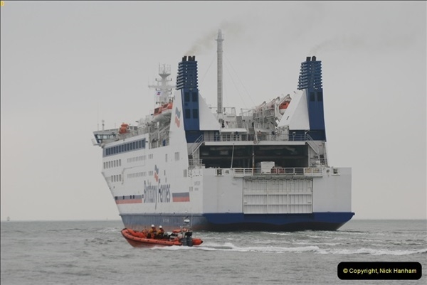 2013-03-20 Brittany Ferries MV Barfleur returns to the Poole Cherbourg service (38)