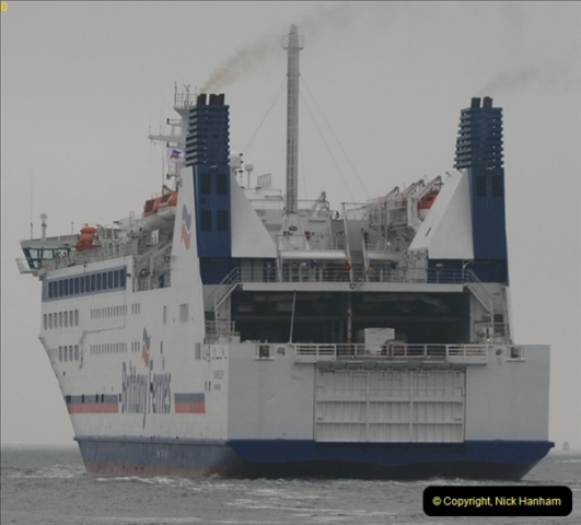 2013-03-20 Brittany Ferries MV Barfleur returns to the Poole Cherbourg service (41)