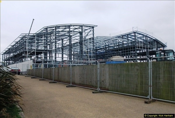 2014-05-02 RNLI New building work progress. Poole, Dorset. (1)