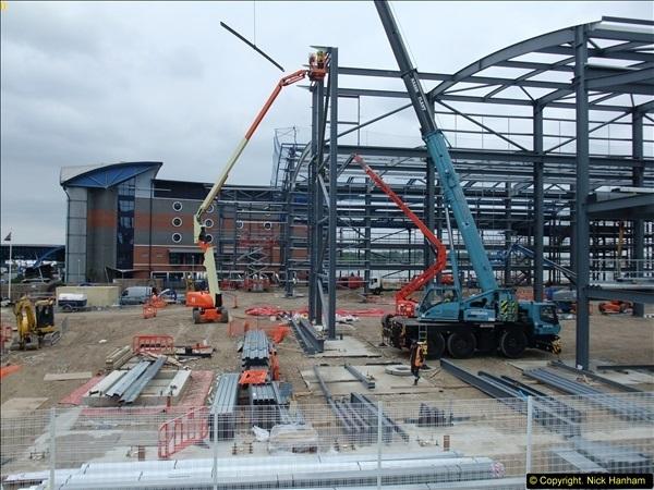 2014-05-02 RNLI New building work progress. Poole, Dorset. (10)