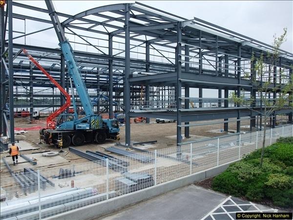 2014-05-02 RNLI New building work progress. Poole, Dorset. (12)