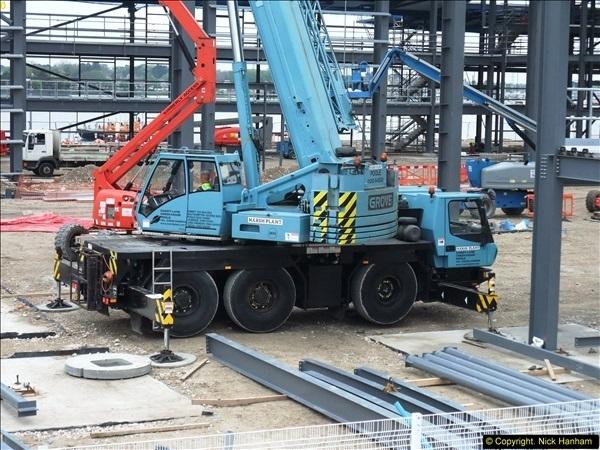 2014-05-02 RNLI New building work progress. Poole, Dorset. (13)