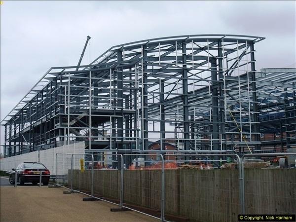 2014-05-02 RNLI New building work progress. Poole, Dorset. (2)