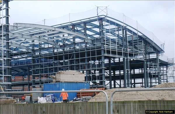 2014-05-02 RNLI New building work progress. Poole, Dorset. (3)