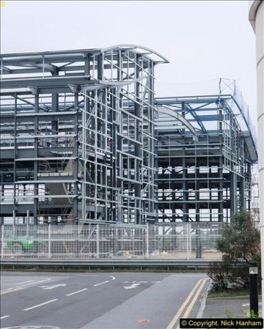 2014-05-02 RNLI New building work progress. Poole, Dorset. (4)