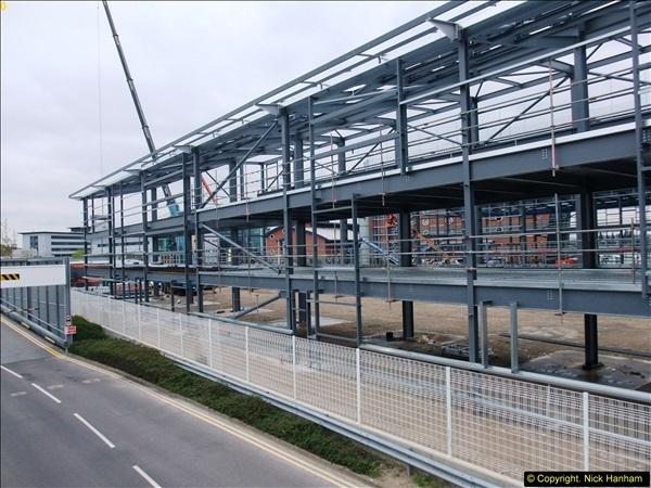 2014-05-02 RNLI New building work progress. Poole, Dorset. (5)