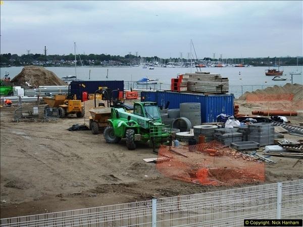2014-05-02 RNLI New building work progress. Poole, Dorset. (7)