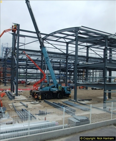 2014-05-02 RNLI New building work progress. Poole, Dorset. (9)