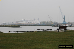 2013-03-20 Brittany Ferries MV Barfleur returns to the Poole Cherbourg service (1)