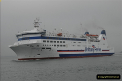 2013-03-20 Brittany Ferries MV Barfleur returns to the Poole Cherbourg service (23)