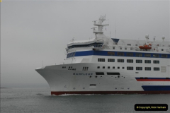 2013-03-20 Brittany Ferries MV Barfleur returns to the Poole Cherbourg service (24)