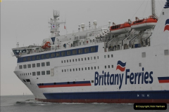 2013-03-20 Brittany Ferries MV Barfleur returns to the Poole Cherbourg service (35)