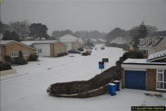 Snow in Poole 01 to 18 March 2018