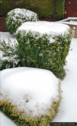 2018-03-01 Snow in Parkstone, Poole, Dorset.  (10)010