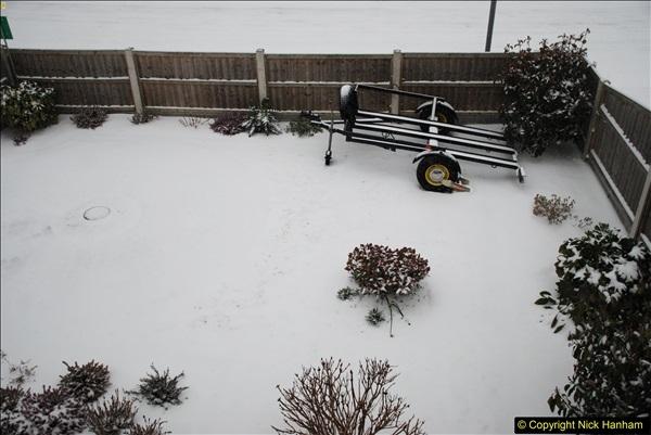 2018-03-01 Snow in Parkstone, Poole, Dorset.  (2)002