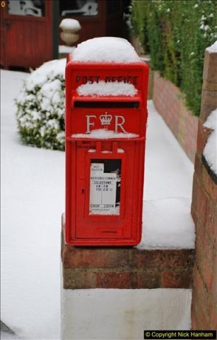 2018-03-01 Snow in Parkstone, Poole, Dorset.  (4)004
