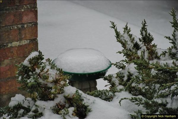 2018-03-01 Snow in Parkstone, Poole, Dorset.  (7)007