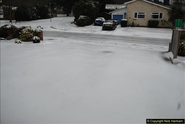 2018-03-02 Snow in Parkstone, Poole, Dorset.  (1)012