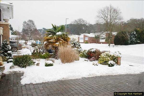 2018-03-02 Snow in Parkstone, Poole, Dorset.  (17)028