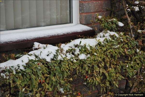 2018-03-02 Snow in Parkstone, Poole, Dorset.  (26)037