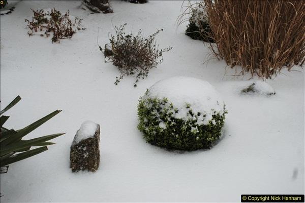 2018-03-02 Snow in Parkstone, Poole, Dorset.  (27)038