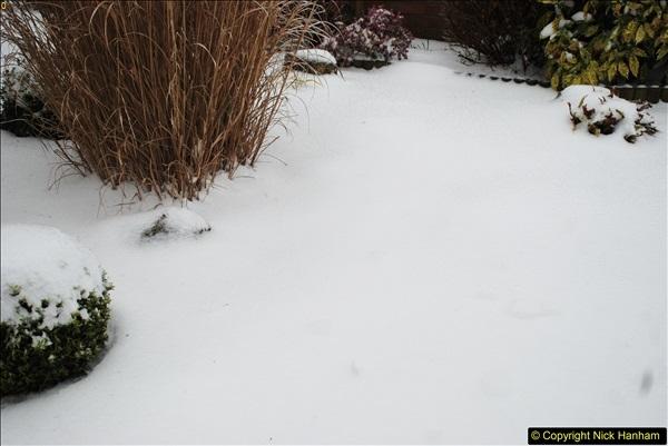 2018-03-02 Snow in Parkstone, Poole, Dorset.  (29)040