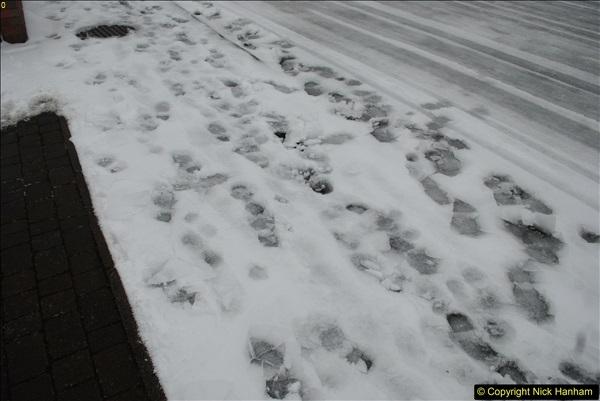 2018-03-02 Snow in Parkstone, Poole, Dorset.  (30)041