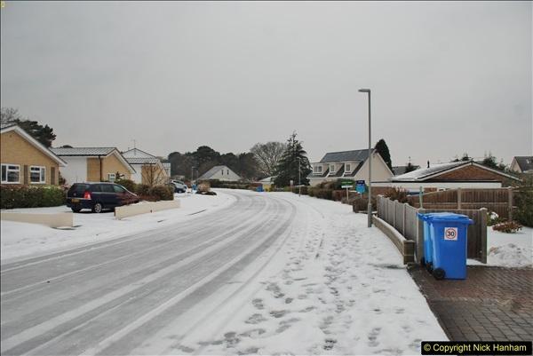 2018-03-02 Snow in Parkstone, Poole, Dorset.  (35)046