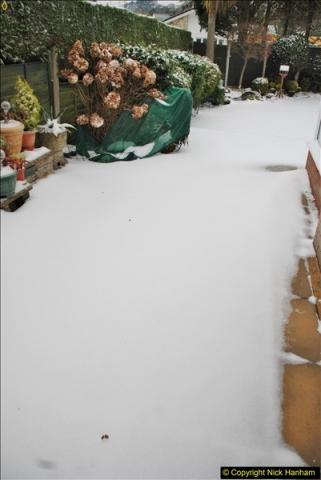 2018-03-02 Snow in Parkstone, Poole, Dorset.  (36)047