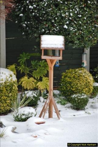 2018-03-02 Snow in Parkstone, Poole, Dorset.  (39)050