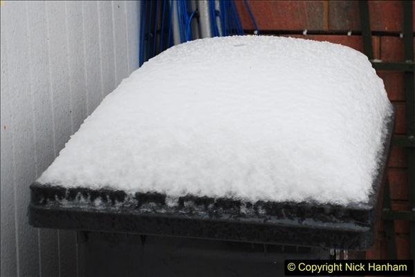 2018-03-02 Snow in Parkstone, Poole, Dorset.  (44)055