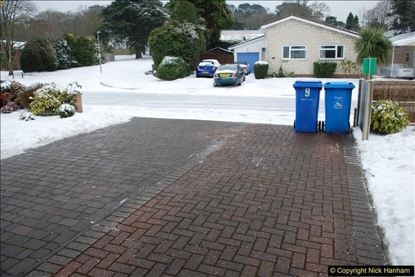 2018-03-02 Snow in Parkstone, Poole, Dorset.  (45)056