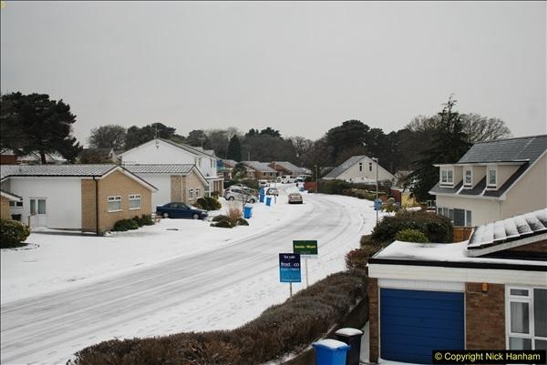 2018-03-02 Snow in Parkstone, Poole, Dorset.  (46)057