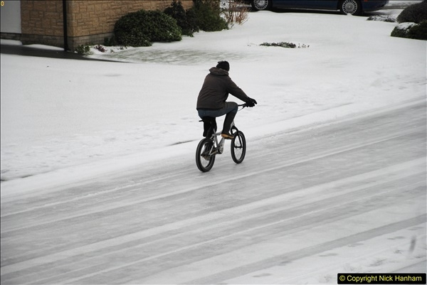 2018-03-02 Snow in Parkstone, Poole, Dorset.  (47)058