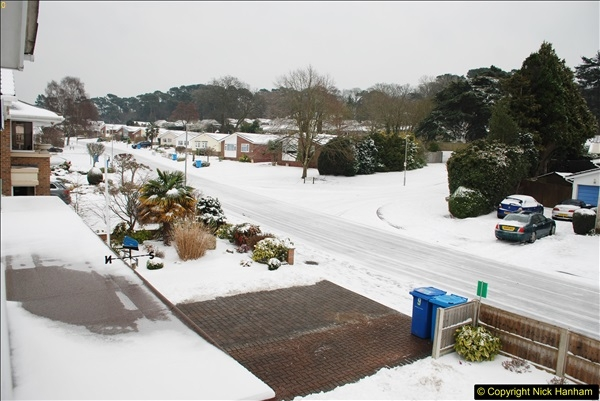 2018-03-02 Snow in Parkstone, Poole, Dorset.  (48)059