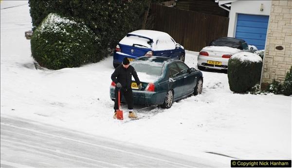 2018-03-02 Snow in Parkstone, Poole, Dorset.  (49)060