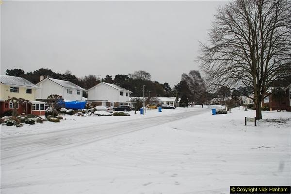 2018-03-02 Snow in Parkstone, Poole, Dorset.  (5)016