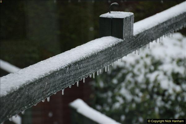 2018-03-02 Snow in Parkstone, Poole, Dorset.  (58)069