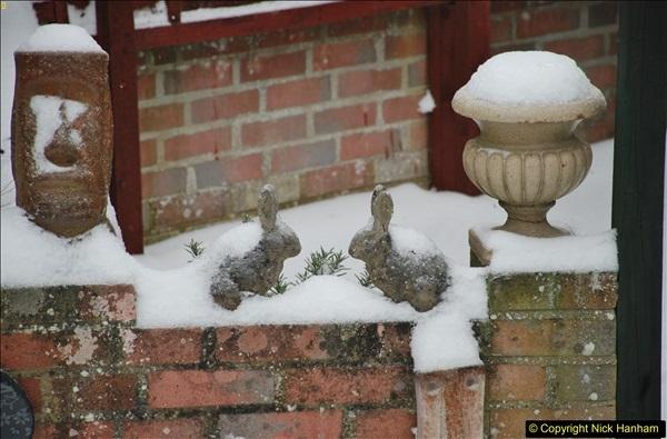 2018-03-02 Snow in Parkstone, Poole, Dorset.  (60)071