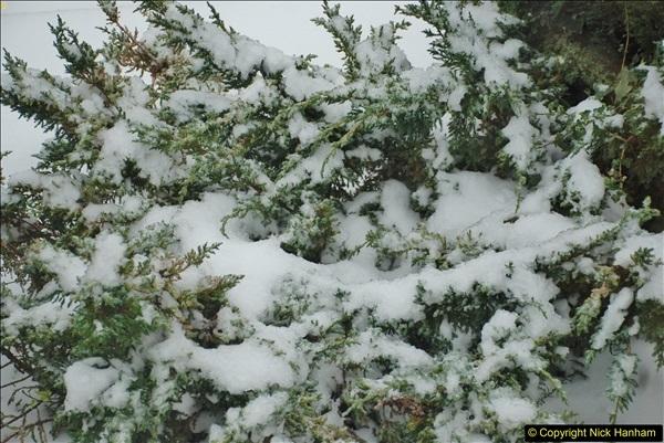2018-03-02 Snow in Parkstone, Poole, Dorset.  (61)072
